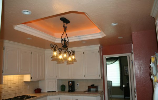 Ceiling Recess and Lighting Install